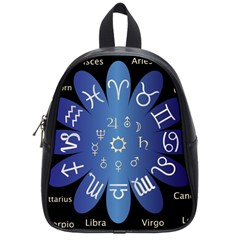 Astrology Birth Signs Chart School Bags (small)