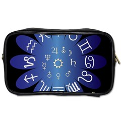 Astrology Birth Signs Chart Toiletries Bags 2 Side