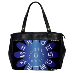 Astrology Birth Signs Chart Office Handbags (2 Sides)