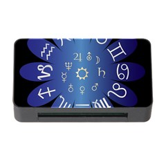 Astrology Birth Signs Chart Memory Card Reader with CF