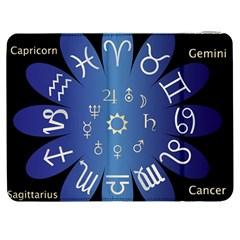 Astrology Birth Signs Chart Samsung Galaxy Tab 7  P1000 Flip Case