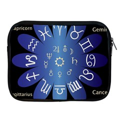 Astrology Birth Signs Chart Apple Ipad 2/3/4 Zipper Cases
