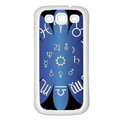 Astrology Birth Signs Chart Samsung Galaxy S3 Back Case (white)