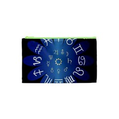 Astrology Birth Signs Chart Cosmetic Bag (xs)