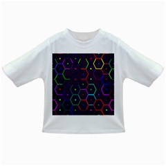 Color Bee Hive Pattern Infant/toddler T Shirts