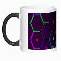 Color Bee Hive Pattern Morph Mugs