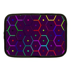 Color Bee Hive Pattern Netbook Case (Medium)