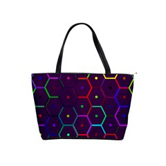 Color Bee Hive Pattern Shoulder Handbags