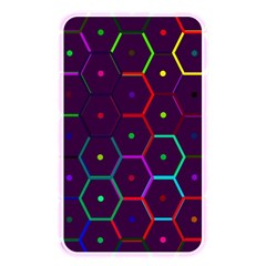 Color Bee Hive Pattern Memory Card Reader