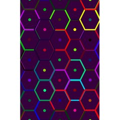 Color Bee Hive Pattern 5 5  X 8 5  Notebooks