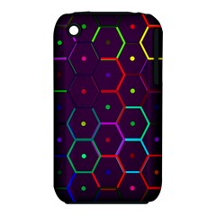 Color Bee Hive Pattern Iphone 3s/3gs