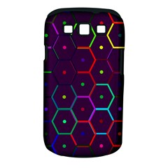 Color Bee Hive Pattern Samsung Galaxy S Iii Classic Hardshell Case (pc+silicone)