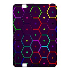 Color Bee Hive Pattern Kindle Fire Hd 8 9