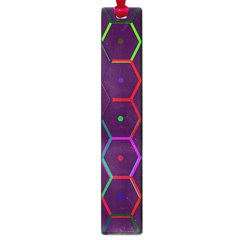Color Bee Hive Pattern Large Book Marks