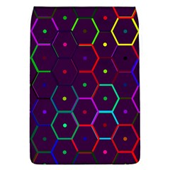 Color Bee Hive Pattern Flap Covers (l)