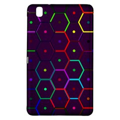 Color Bee Hive Pattern Samsung Galaxy Tab Pro 8.4 Hardshell Case
