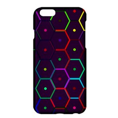 Color Bee Hive Pattern Apple Iphone 6 Plus/6s Plus Hardshell Case