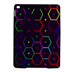 Color Bee Hive Pattern Ipad Air 2 Hardshell Cases