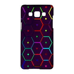 Color Bee Hive Pattern Samsung Galaxy A5 Hardshell Case