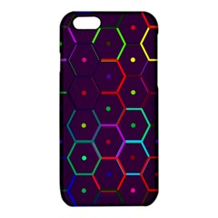Color Bee Hive Pattern iPhone 6/6S TPU Case
