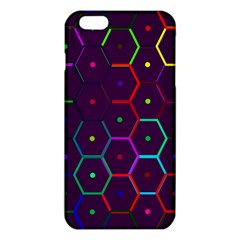 Color Bee Hive Pattern Iphone 6 Plus/6s Plus Tpu Case