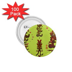 Set Of Monetary Symbols 1 75  Buttons (100 Pack)