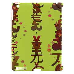 Set Of Monetary Symbols Apple Ipad 3/4 Hardshell Case (compatible With Smart Cover)