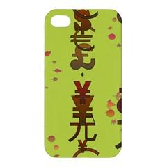 Set Of Monetary Symbols Apple Iphone 4/4s Premium Hardshell Case