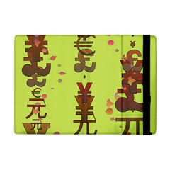 Set Of Monetary Symbols Apple Ipad Mini Flip Case