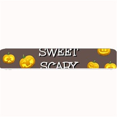 Scary Sweet Funny Cute Pumpkins Hallowen Ecard Small Bar Mats