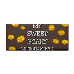 Scary Sweet Funny Cute Pumpkins Hallowen Ecard Cosmetic Storage Cases