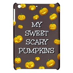 Scary Sweet Funny Cute Pumpkins Hallowen Ecard Apple Ipad Mini Hardshell Case