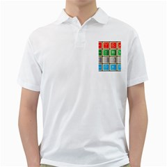 Set Of The Twelve Signs Of The Zodiac Astrology Birth Symbols Golf Shirts