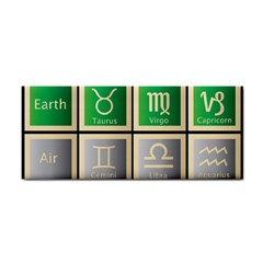 Set Of The Twelve Signs Of The Zodiac Astrology Birth Symbols Cosmetic Storage Cases