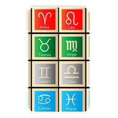 Set Of The Twelve Signs Of The Zodiac Astrology Birth Symbols Memory Card Reader