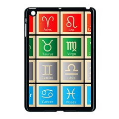 Set Of The Twelve Signs Of The Zodiac Astrology Birth Symbols Apple Ipad Mini Case (black)