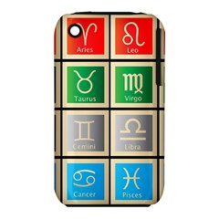 Set Of The Twelve Signs Of The Zodiac Astrology Birth Symbols Iphone 3s/3gs