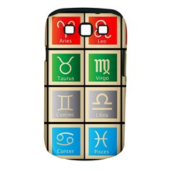 Set Of The Twelve Signs Of The Zodiac Astrology Birth Symbols Samsung Galaxy S Iii Classic Hardshell Case (pc+silicone)