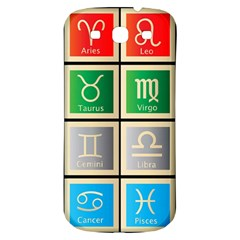 Set Of The Twelve Signs Of The Zodiac Astrology Birth Symbols Samsung Galaxy S3 S Iii Classic Hardshell Back Case