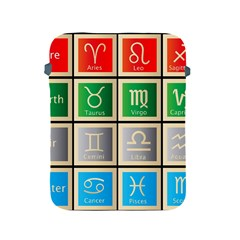 Set Of The Twelve Signs Of The Zodiac Astrology Birth Symbols Apple Ipad 2/3/4 Protective Soft Cases