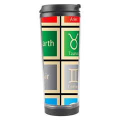 Set Of The Twelve Signs Of The Zodiac Astrology Birth Symbols Travel Tumbler