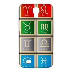 Set Of The Twelve Signs Of The Zodiac Astrology Birth Symbols Samsung Galaxy Mega 6 3  I9200 Hardshell Case