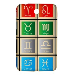 Set Of The Twelve Signs Of The Zodiac Astrology Birth Symbols Samsung Galaxy Tab 3 (7 ) P3200 Hardshell Case