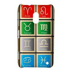 Set Of The Twelve Signs Of The Zodiac Astrology Birth Symbols Nokia Lumia 620