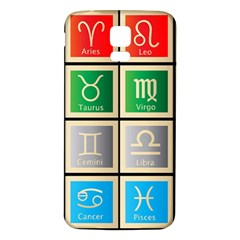 Set Of The Twelve Signs Of The Zodiac Astrology Birth Symbols Samsung Galaxy S5 Back Case (white)