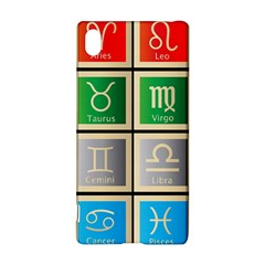 Set Of The Twelve Signs Of The Zodiac Astrology Birth Symbols Sony Xperia Z3+