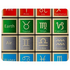 Set Of The Twelve Signs Of The Zodiac Astrology Birth Symbols Jigsaw Puzzle Photo Stand (rectangular)