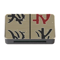 Xia Script On Gray Background Memory Card Reader With Cf