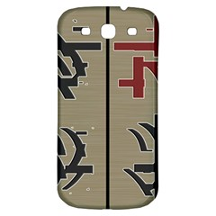 Xia Script On Gray Background Samsung Galaxy S3 S Iii Classic Hardshell Back Case