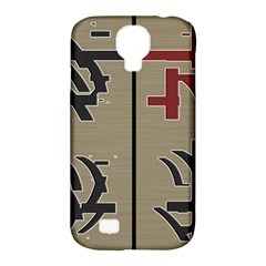 Xia Script On Gray Background Samsung Galaxy S4 Classic Hardshell Case (pc+silicone)